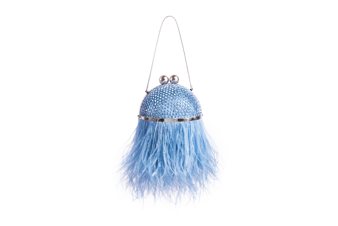 Mini Feather Orb-Blue  (Pre-Order)