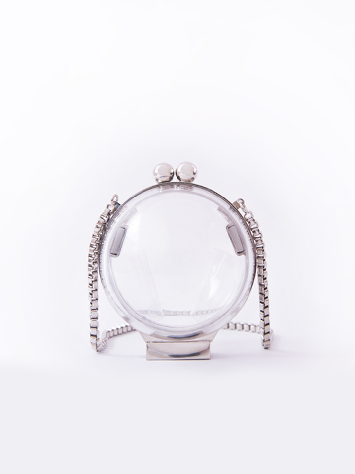 Micro Lucid Orb -Silver Hardware