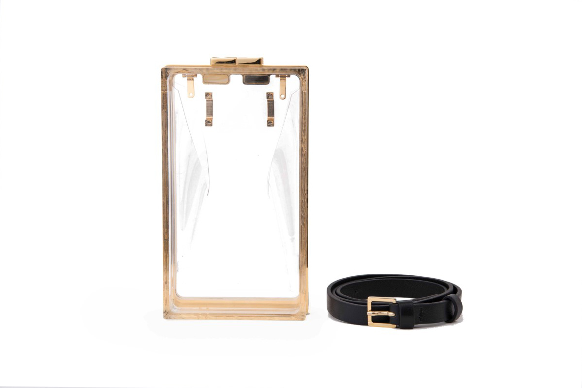 Capsule Transparent -with Belt