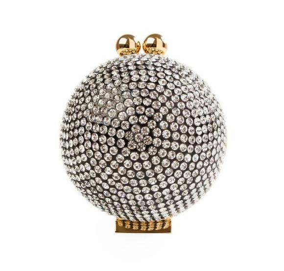 Crystal Ball -Gold Hardwear