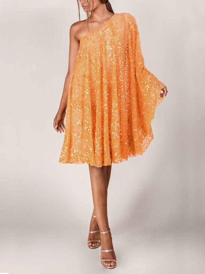 Carrie Dress -Orange