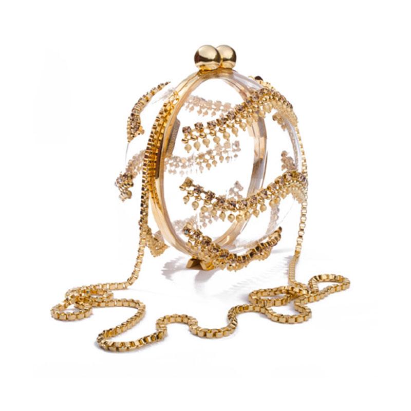 Lucid Ornament -Gold