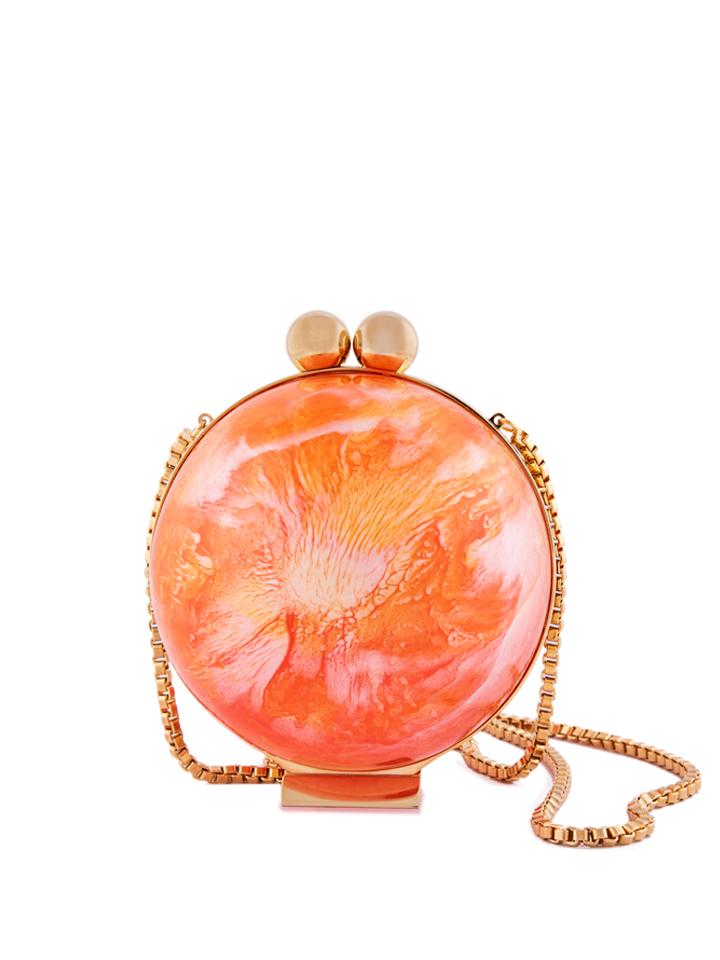 Orange Marble Orb