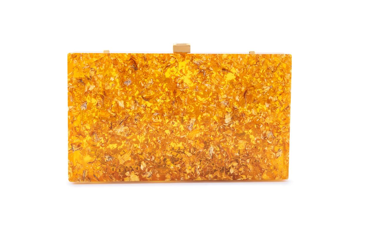 Gold Leaf Clutch (Preorder)