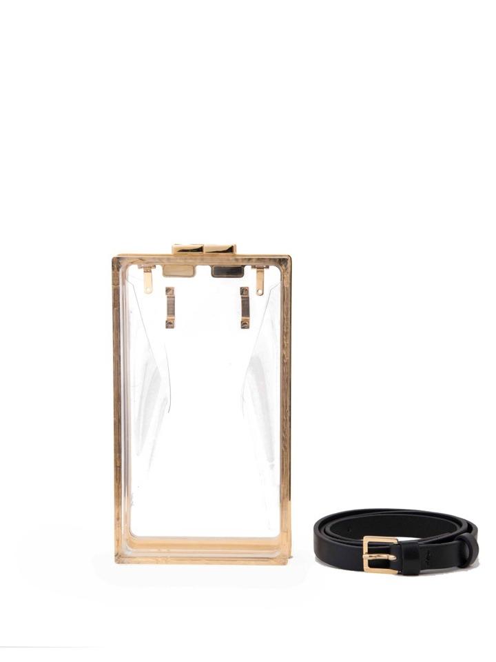Capsule Transparent -with Belt