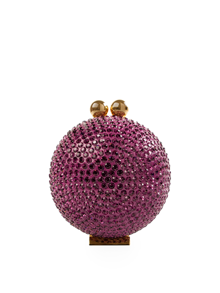 Mini Crystal Orb -Purple