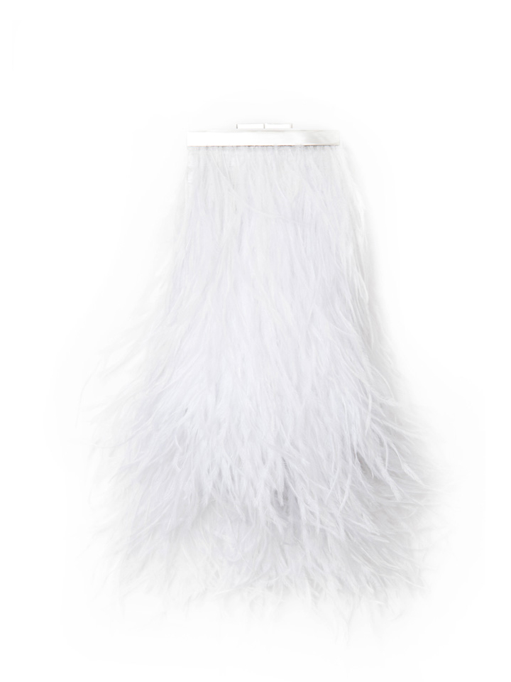 Feather Capsule -White