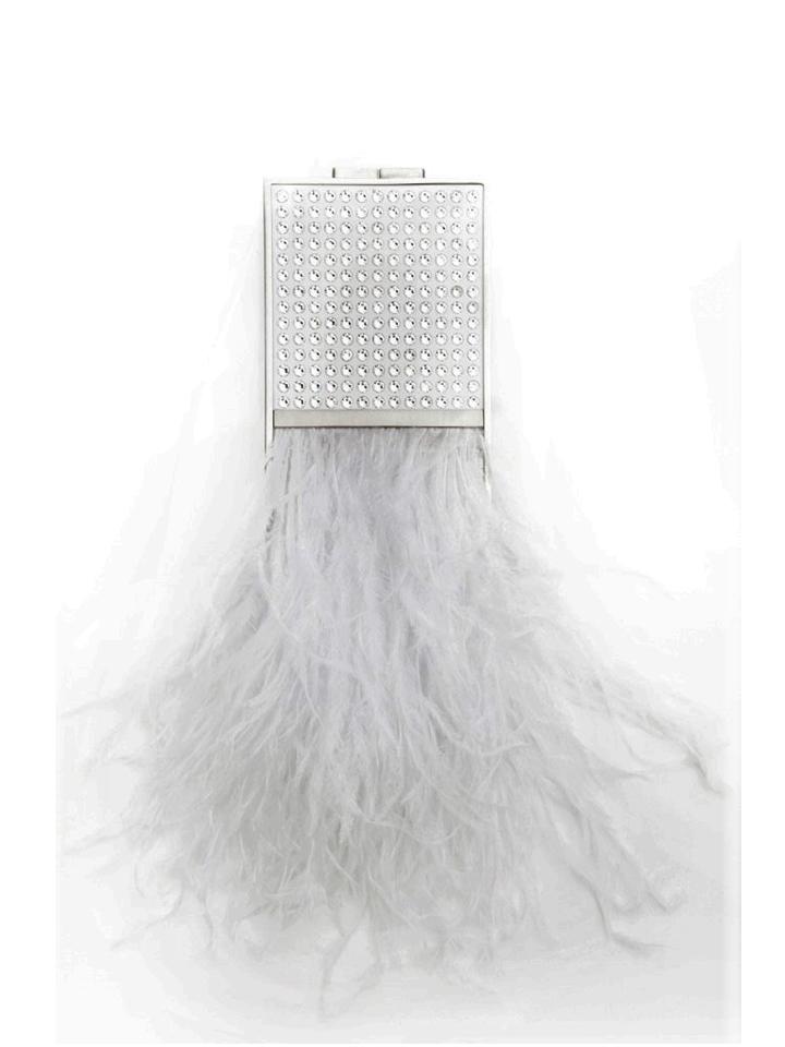 Mini Feather Capsule -White S