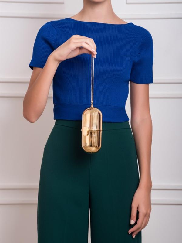 Pill Bag -Gold