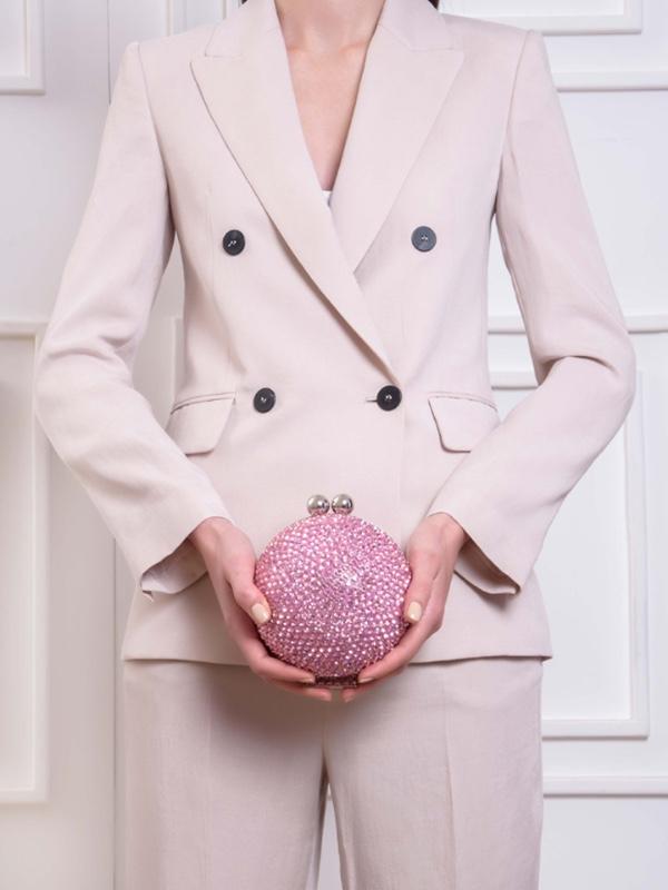 Crystal Orb -Pink