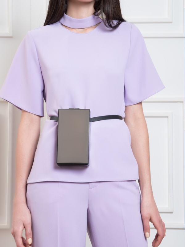 Capsule Silver -With Belt